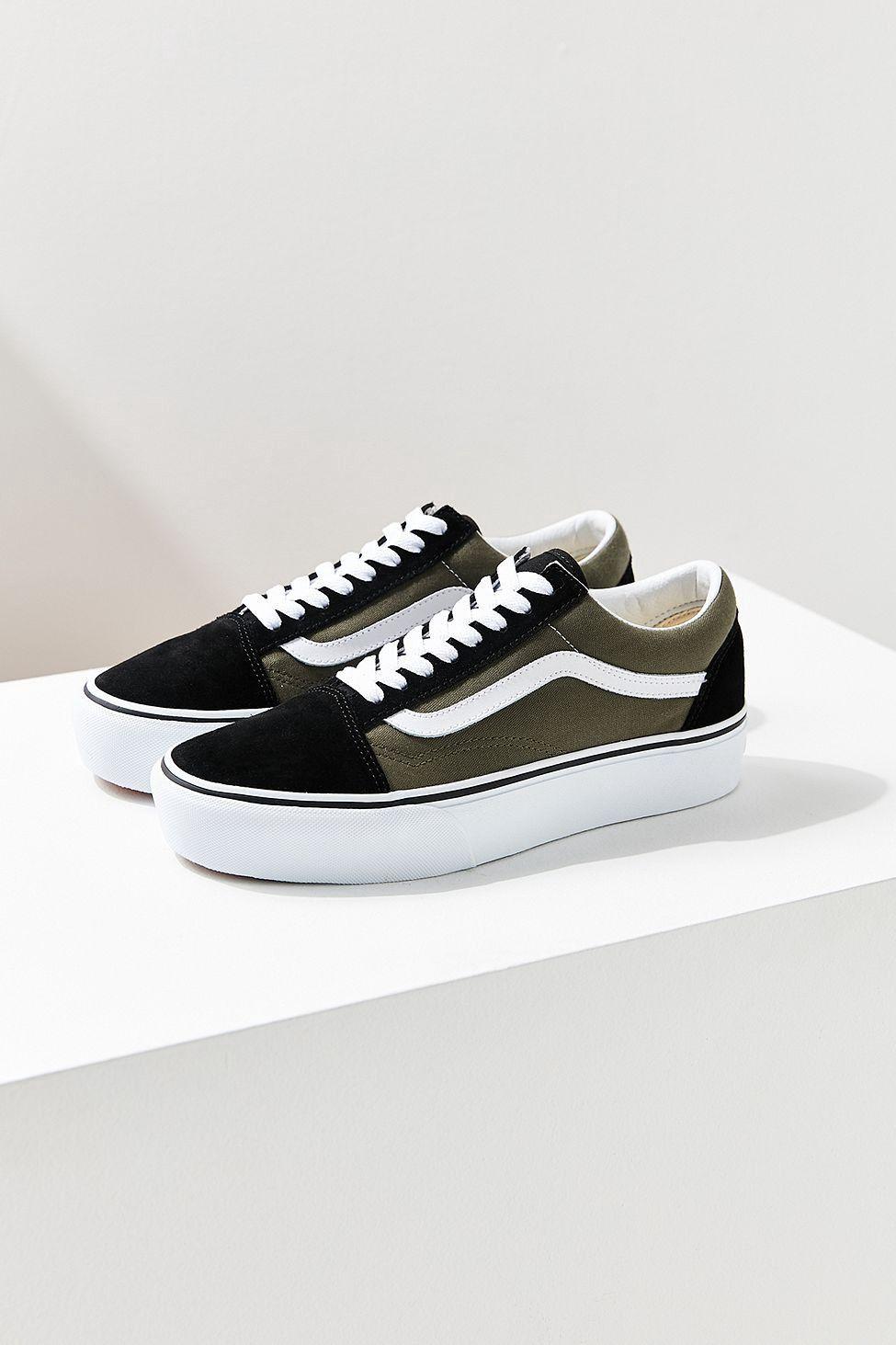 Urban Outfitters Vans Old Skool Platform Sneaker W 10M
