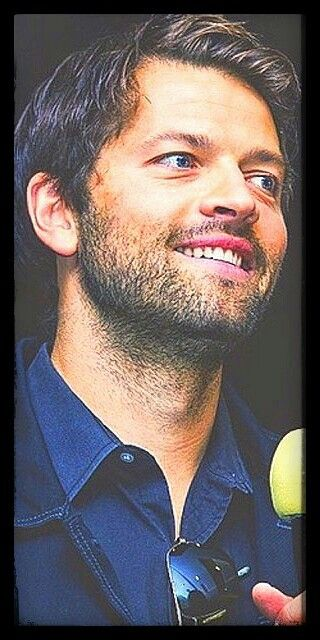 Misha Collins Smiles