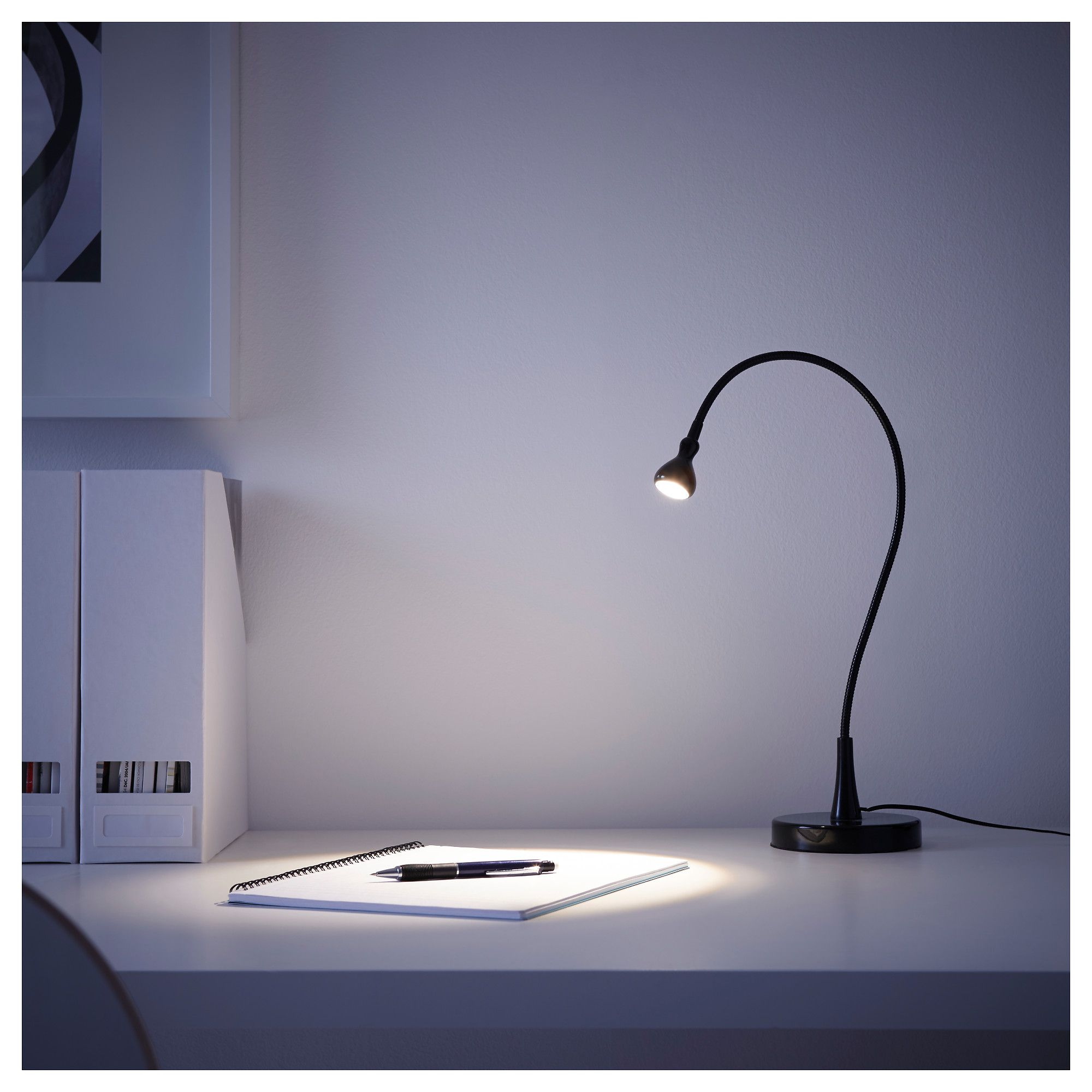 Jansjo Arbeitsleuchte Led Schwarz Arbeitsleuchte Tischlampen