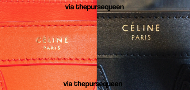 Can You Spot Fake Celine Bags  A Guide to Authentic vs. Replica ... 06edf5169efb9