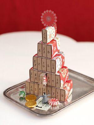 DIY Matchbox Advent Calendar :)