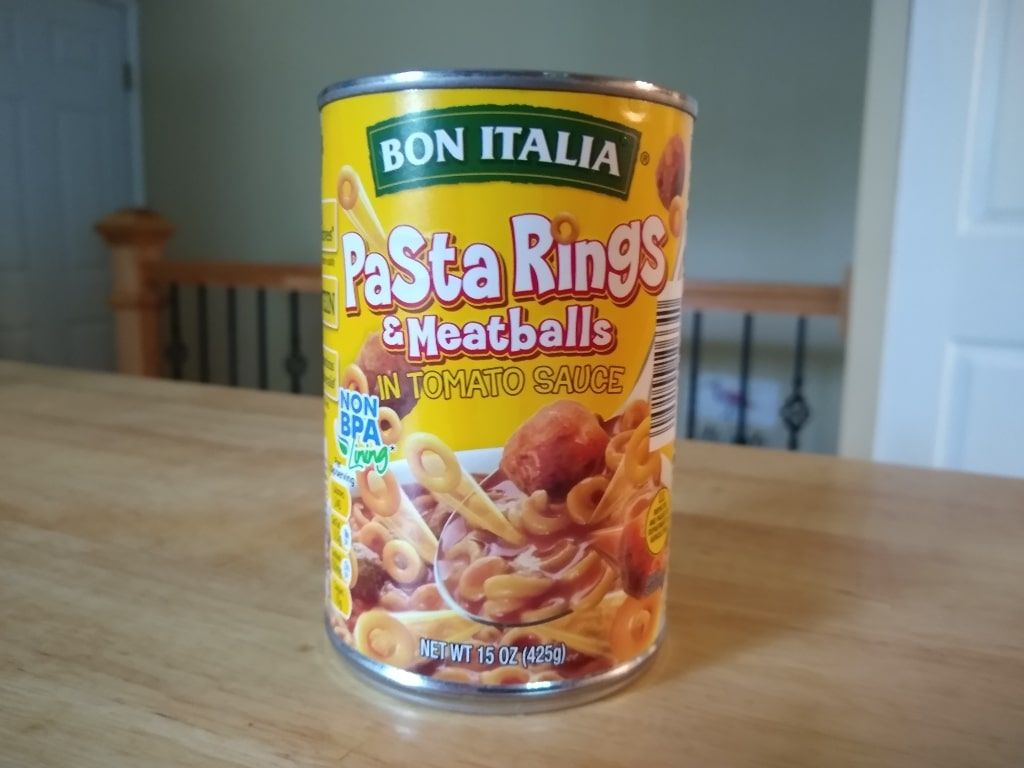 Bon Italia Pasta Rings And Meatballs Aldi Reviewer Pasta Campbell Soup Company Meatballs