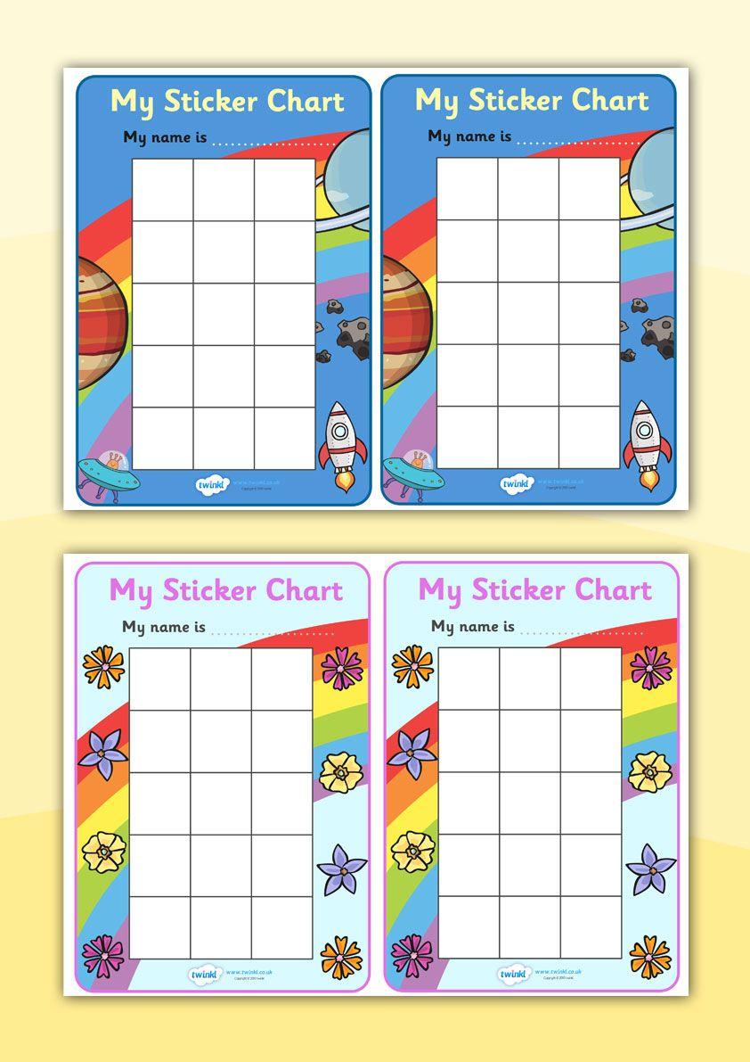 photo regarding Thousands Chart Printable titled Twinkl Products \u003e\u003e My Sticker Chart \u003e\u003e Printable components