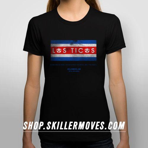 Costa Rica Los Ticos World Cup T Shirts At Shop Skillermoves Com Costa Rica Costa Rica Travel Costa Rica Vacation