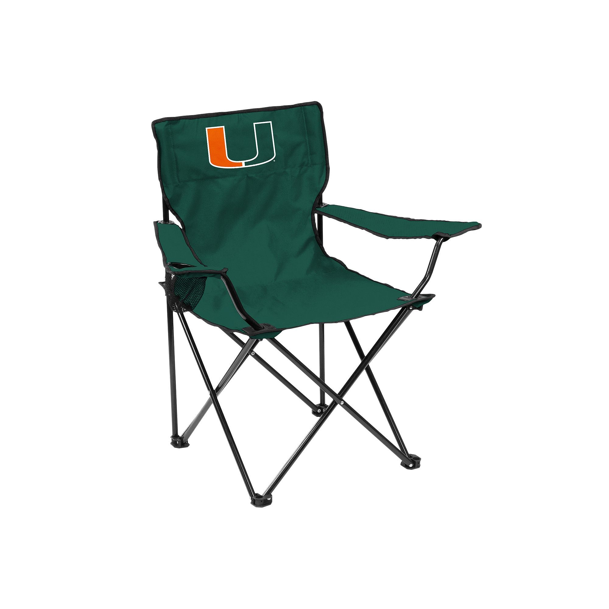 Outdoor Logo Brand Miami Hurricanes Portable Folding Chair