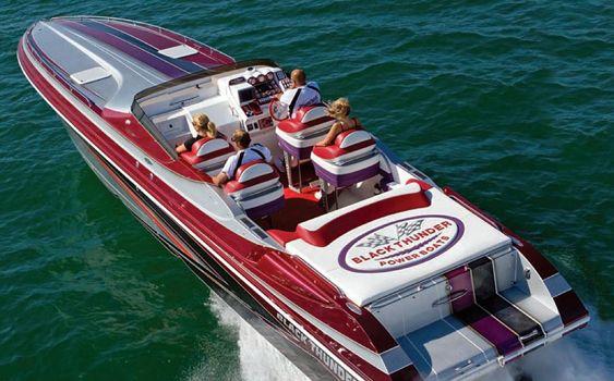 BlackThunder #outboard #boat #speedboat #offshore