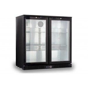 Mini Bar Fridge For The Boardroom Kitchen Double Glass Doors Bar Refrigerator Glass Door