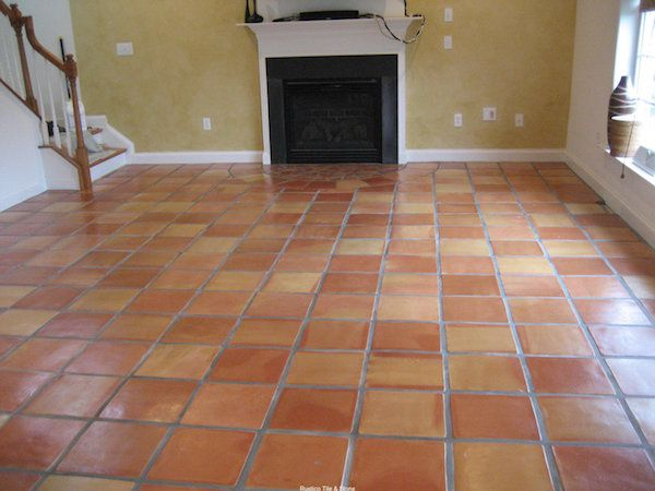 exciting saltillo tile with white