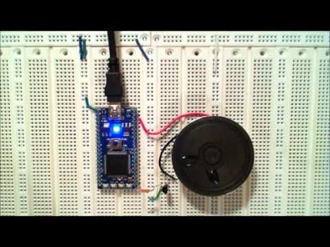 Using a Speaker for Audio Output   mbed   arduino sounds