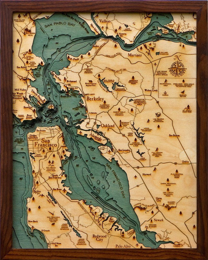 Our San Fransisco Bay Area maps