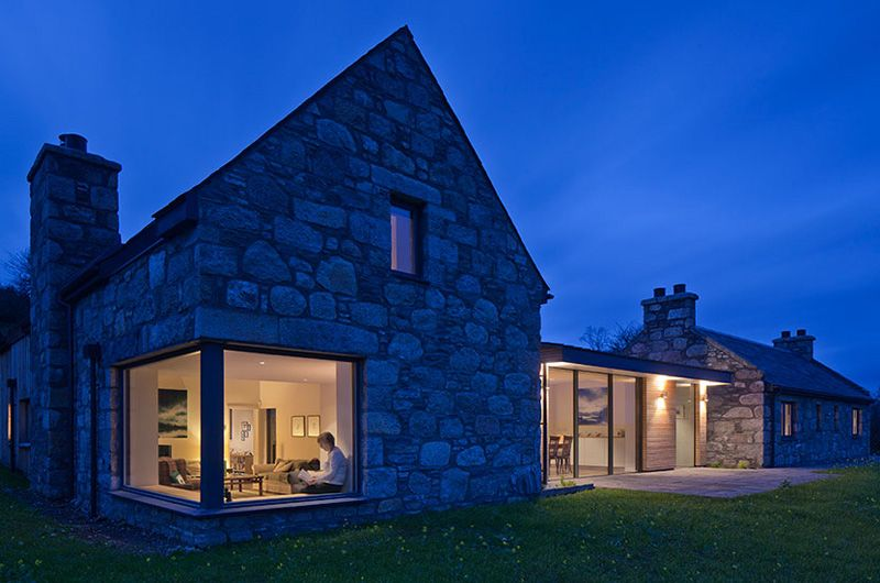 Modern Stone Cottage helen lucas architects edinburgh   project   shepherds cottage