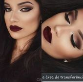 Makeup and Age – Populer Pins  60 Ideas makeup wedding red lips hairstyles for 2…