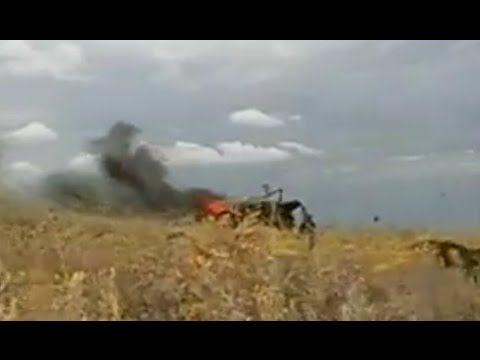 Пограничники подорвались на мине / Донецк Луганск
