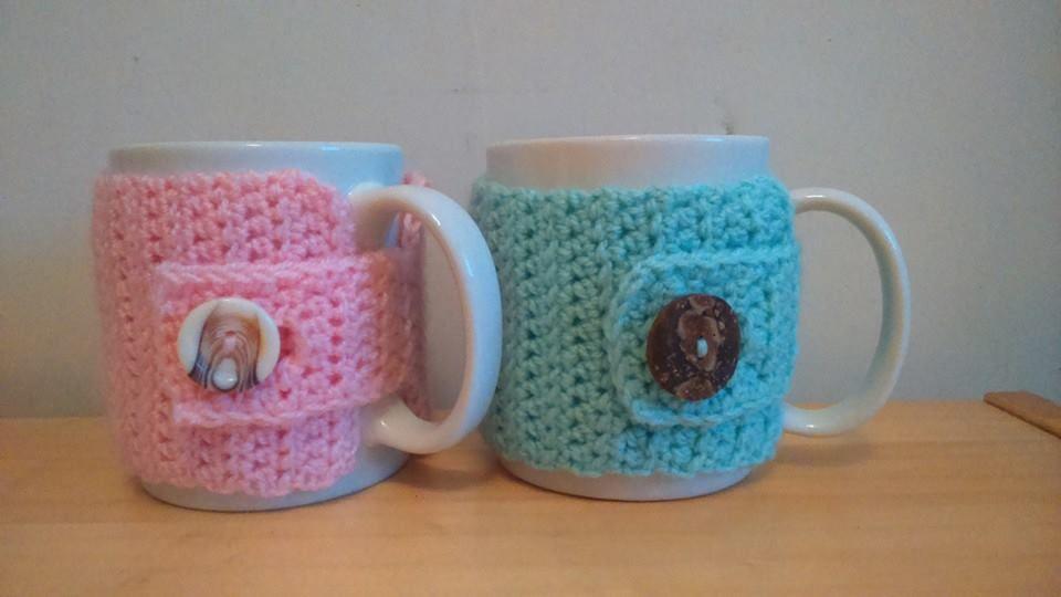 Crochet mug warmers  https://www.facebook.com/crochetbyalice