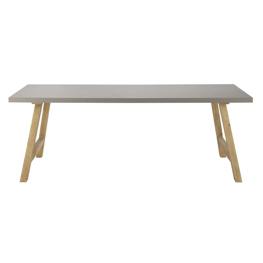 Elegant Home Collection 2018. Wood Dining TablesVermontConcreteAffordable FurnitureNouvelle  CollectionWaxDiner ...