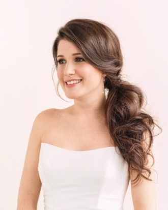 Layout Side Ponytail Wedding Hairstyles For Long Hair