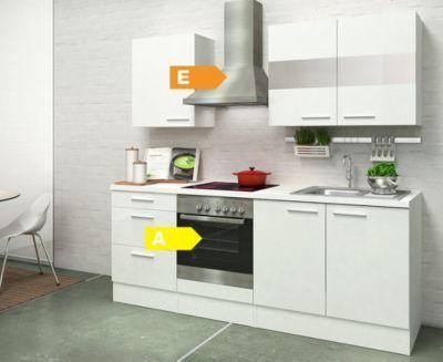 Respekta Premium Küchenzeile RP210WWC 210 cm Weiß Jetzt bestellen - küchenblock 260 cm