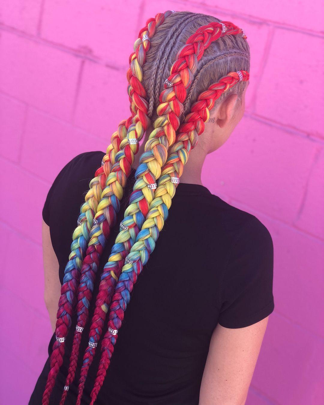Pin By Joy Martin On Hair Festival Braid Hair Styles Festival
