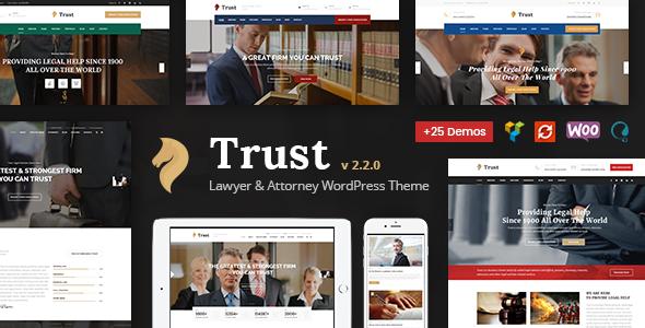 Trust - Law Firm, Lawyer & Attorney Business WordPress Theme ...