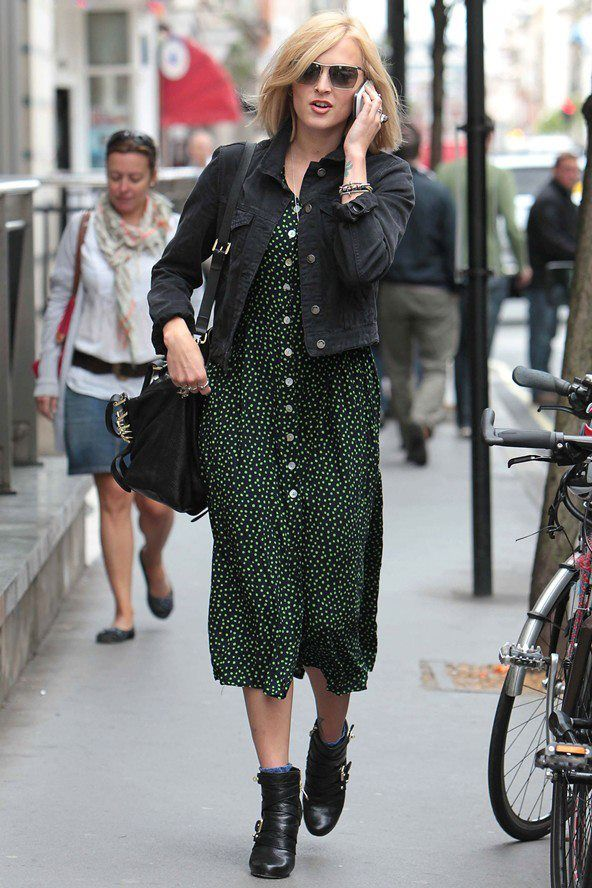 Fearne Cotton In A Late 1980s Early 1990s Dress Fearne Cotton
