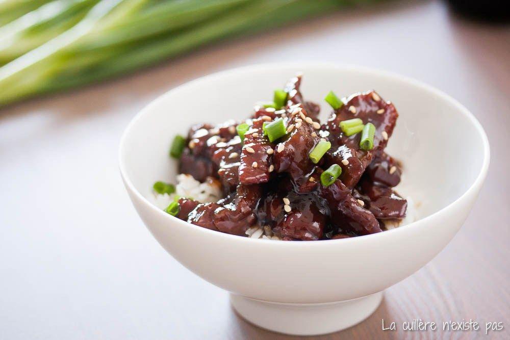Mongolian Beef, ou bœuf à la mongole | La cuillère n'existe pas