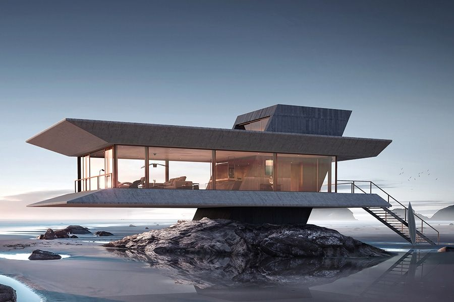 The Monolit Beach House Keeps You Riding the Waves | Man of Many