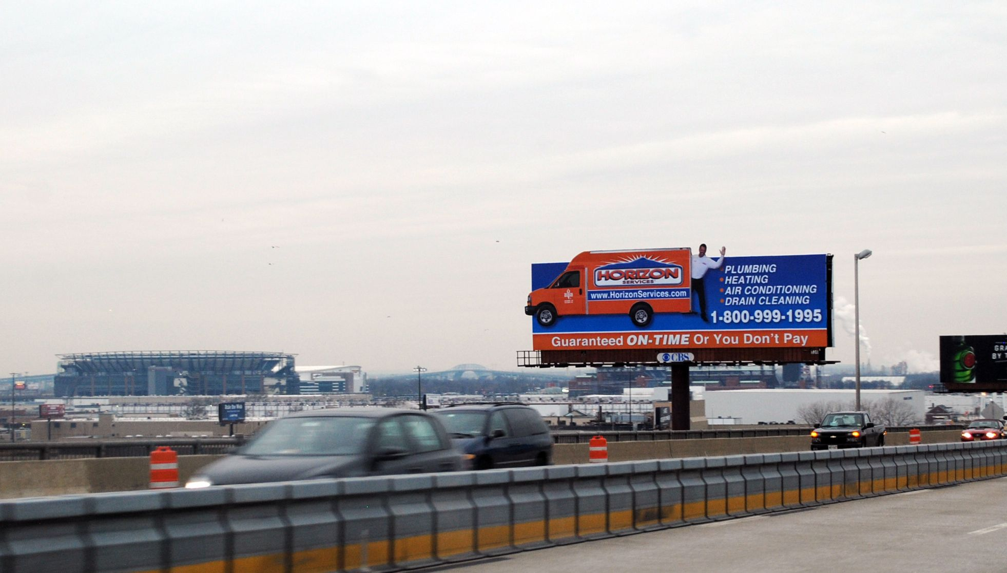 We Ve Got A New Billboard On The Walt Whitman Bridge What Do You