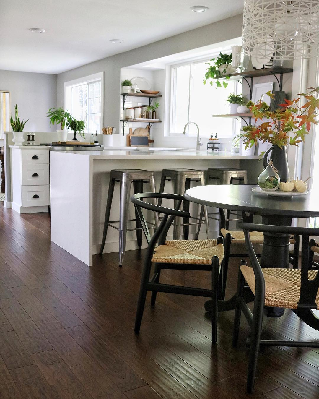 Hans Wegner Ch24 Wishbone Chair New Kitchen Cabinets Kitchen Inspirations Kitchen Decor