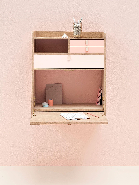 Small Smart Work Space By Harto Kleiner Schreibtisch Schlafzimmer Platzsparende Mobel Schreibtisch