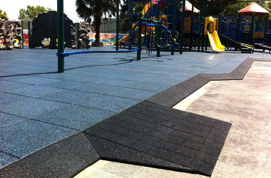 Jamboree Playground Tiles Rubber Safety Surface Playground