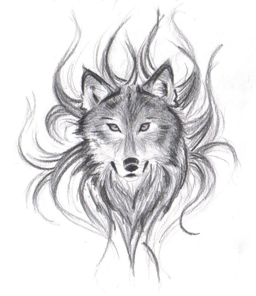 Wolf drawings wolfs face by believennothing on deviantart