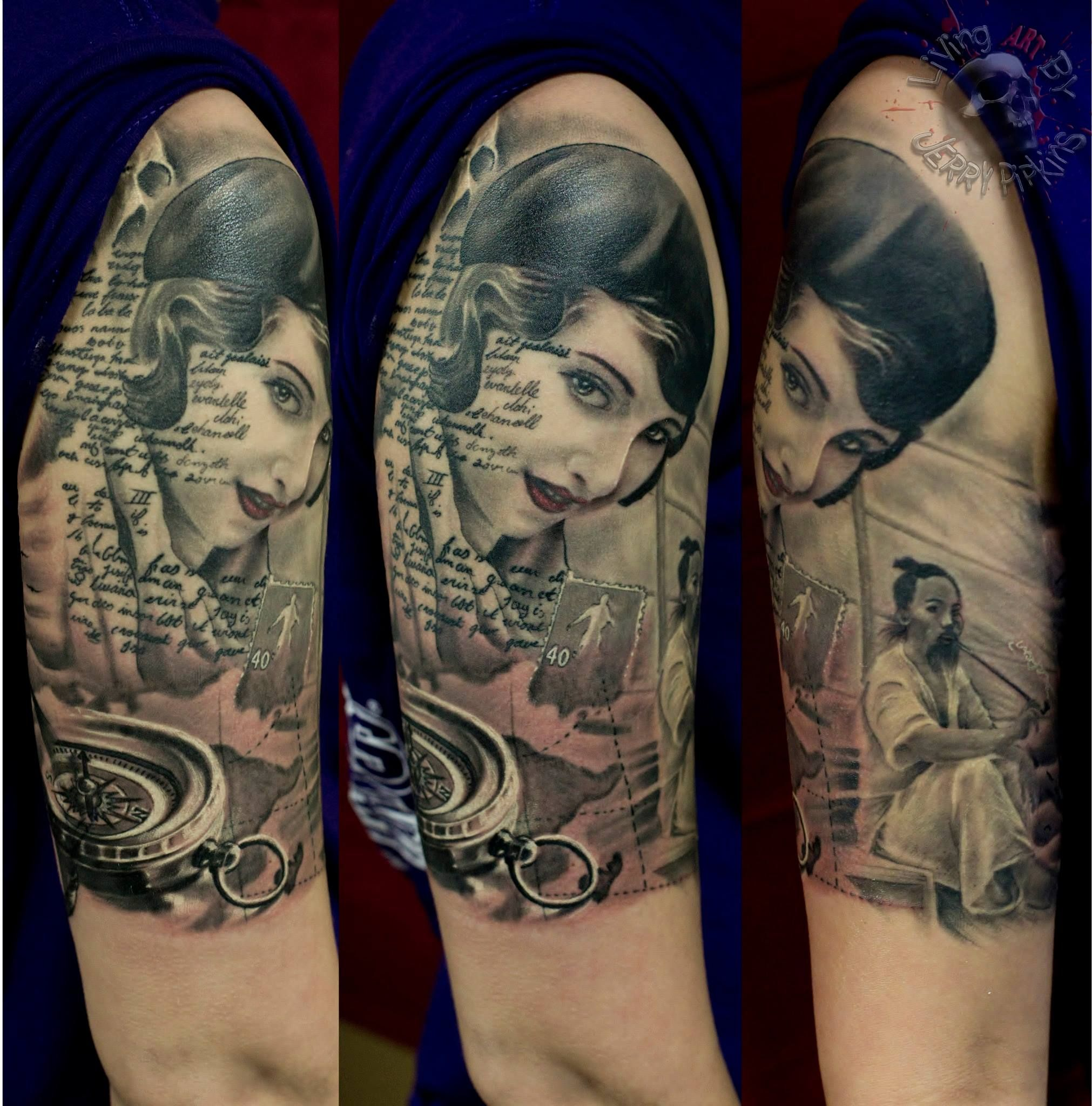 Done by our artist jerry pipkins tattoo shop tattoos