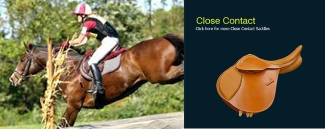 The Close -Contact ( Jumping saddle) saddle, is designed for show jumping, hunt ...,  #close ...