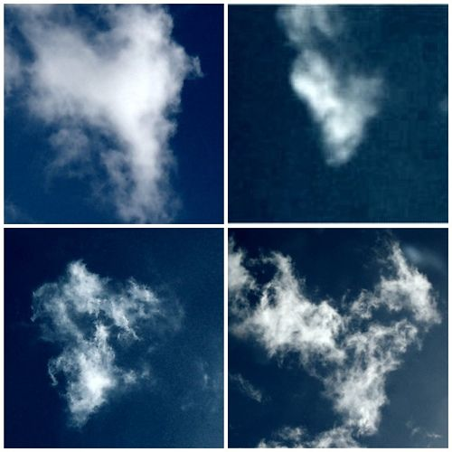 Heart Clouds Galore <3