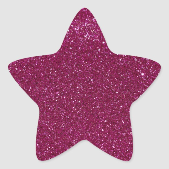 Pink Glitter Classic Round Sticker Zazzle Com Glitter Hearts Glitter Stickers Green Glitter
