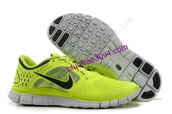 Nike Free Run 3 Volts Jaune Néon