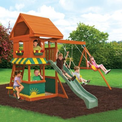 Big Backyard by Solowave® 'Monterrey' Playground - Sears ...