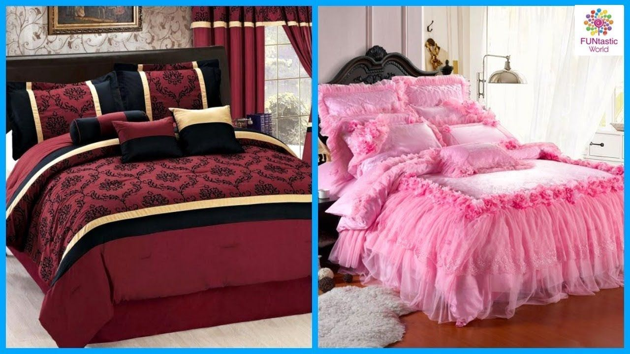 Top Latest Beautiful Bed Sheet Designs Bridal Bed Sheet Ideas Appliq Designerbedsheets Designer Bed Sheets Bed Sheets Bed