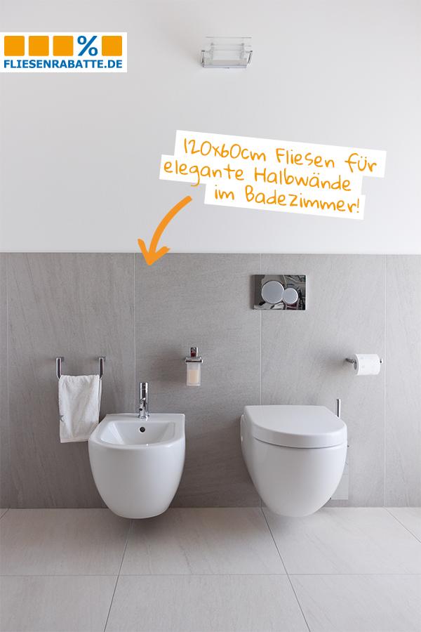 Eine Tolle Losung Fur Das Badezimmer Werden Xxl Fliesen Hochkant Verlegt Zum Beispiel Im Format 120x60cm K Fliesen Badezimmer Fliesen Badezimmer T Losung