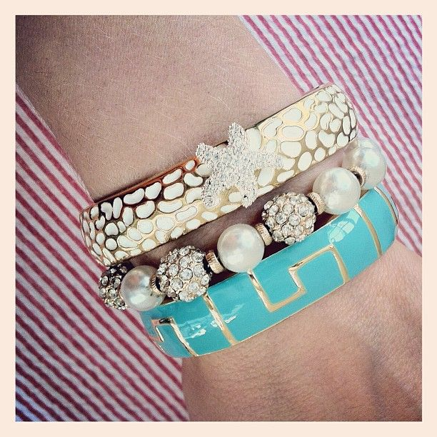 Inca, Starfish & Lady of Leisure bracelets from Swell Caroline!