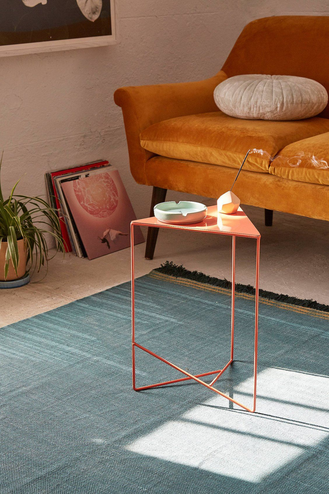 triangle side table urban outfitters triangles and urban