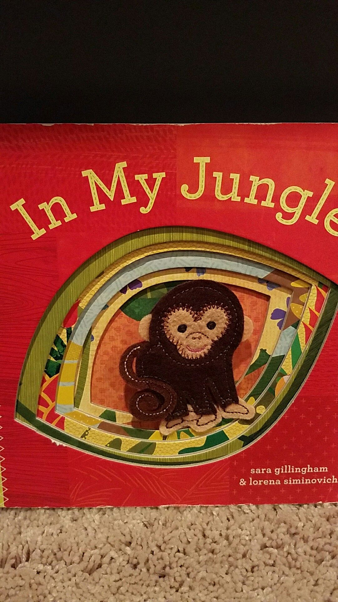 In My Jungle By Sara Gillingham And Lorena Siminovich