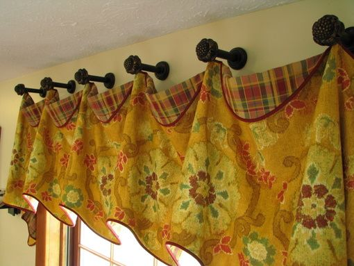 Everyday Artist: Valance Ideas - Casual, Elegant, Fabulous, or Funky on casual window shades, casual kitchen tables, martha stewart curtains, casual furniture, casual kitchen linens, casual kitchen flooring, casual kitchen lighting, casual kitchen interior design, casual bedding,