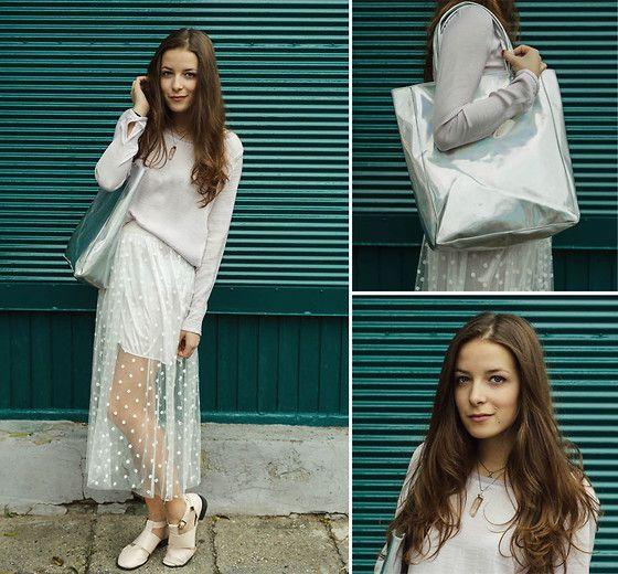 Bershka Blouse, Alison Sman Cut Out Boots, 6ks Skirt, Choies Bag