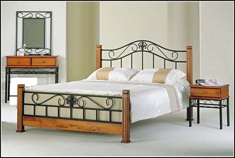 Bedroom Decor on | Wrought iron beds, Hillsdale furniture and Wrought iron - Bedroom Decor On Wrought Iron Beds, Hillsdale Furniture And