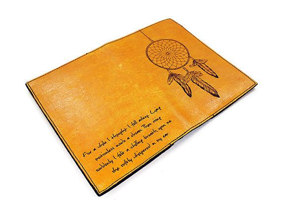 98677bc16 Personalized Passport Leather Holder Dreamcather by joevleather ...
