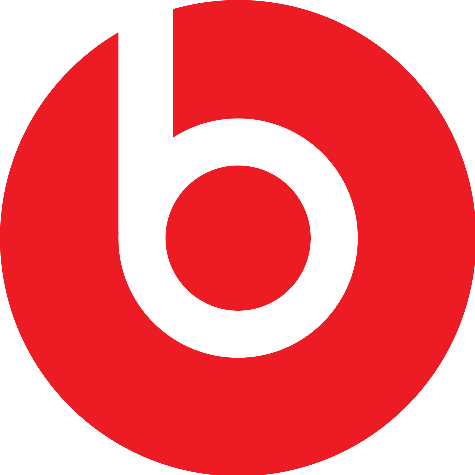 (Dr Dre Beats Logo) The positive space looks like a
