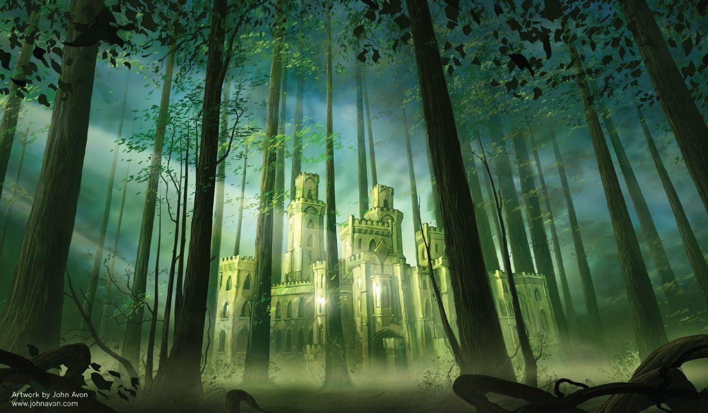 Amazon Com Artists Of Magic Premium Playmats Forest