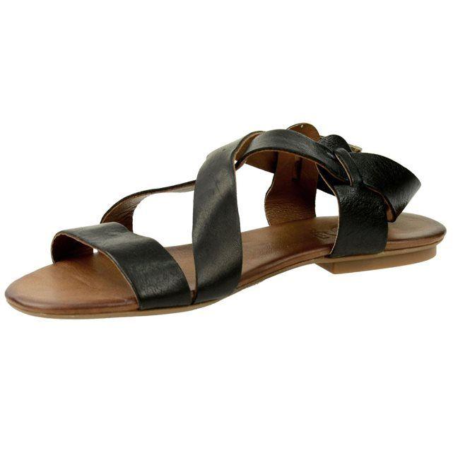 2f075a7d39c SACHA Sandales en cuir - noir SACHA