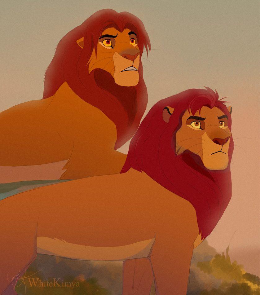 simba and kion